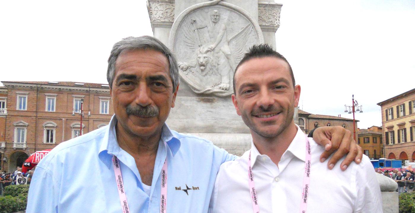 Marino Bartoletti, Giro d'Italia, RAI | Iader Fabbri